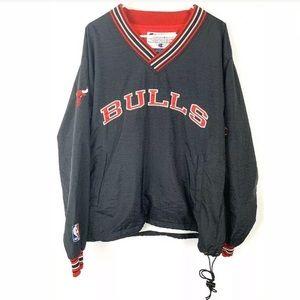 VINTAGE NBA Champion Chicago Bulls Black Pullover